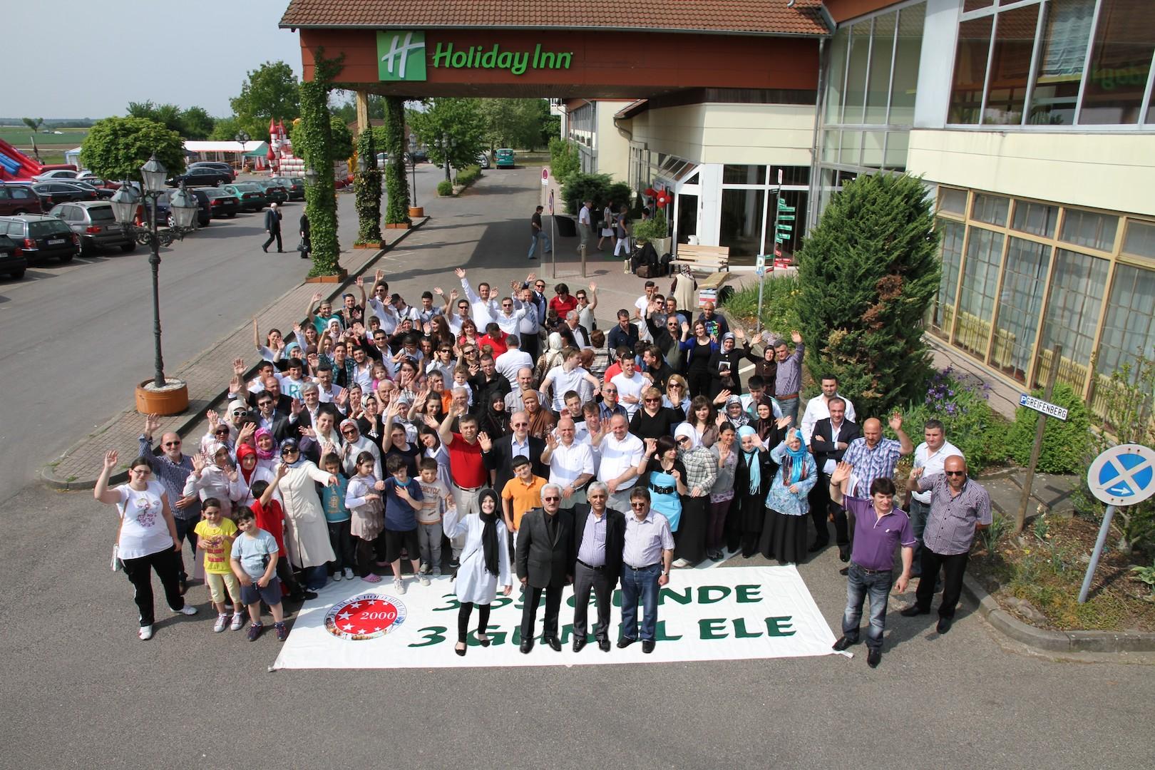 Avrupa Holo Birliği Aile toplantısı 2011